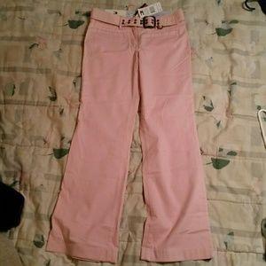 Tommy Hilfiger pink flare pants NWT, Sz 4
